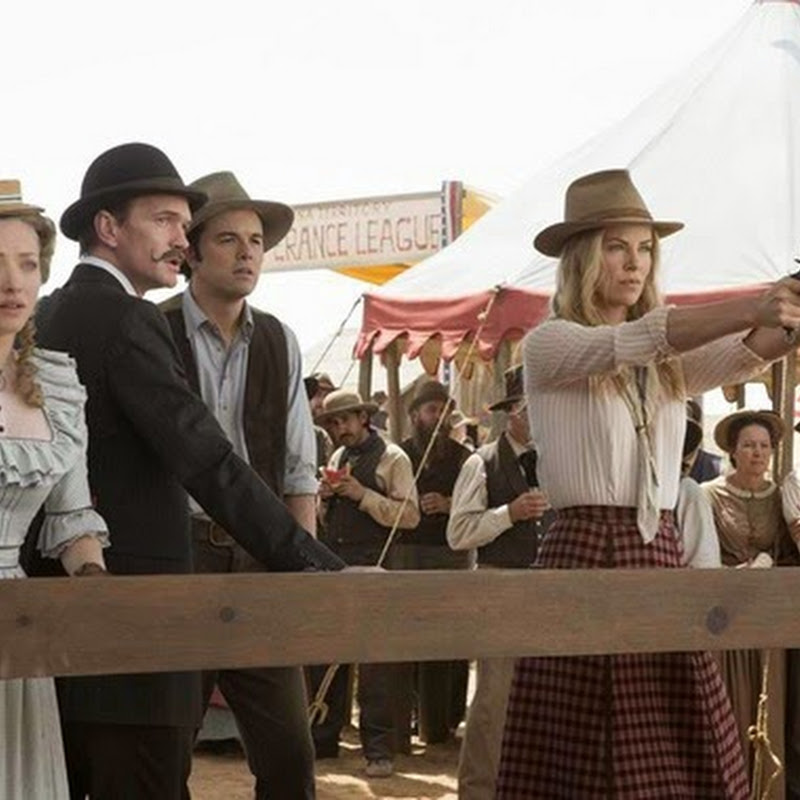"Liam Neeson, a Notorious Outlaw in ""A Million Ways to Die West"" (Opens Sep 3)"