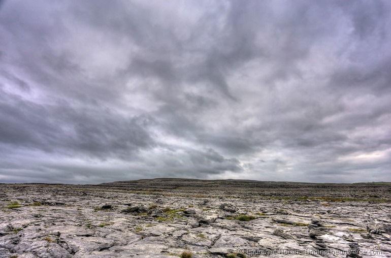 Burren - Large limestone landscape Ireland