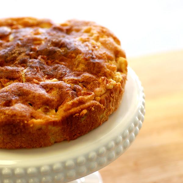 Apple Buckle Cake