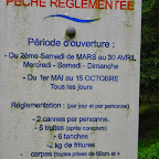 Règlement étang du Kaiser