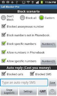 Ultimate Call Blocker Free - screenshot thumbnail