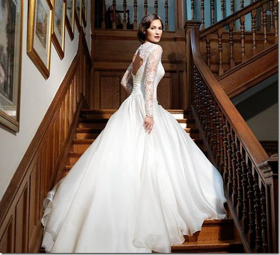 Winter Wonderland Wedding Gowns