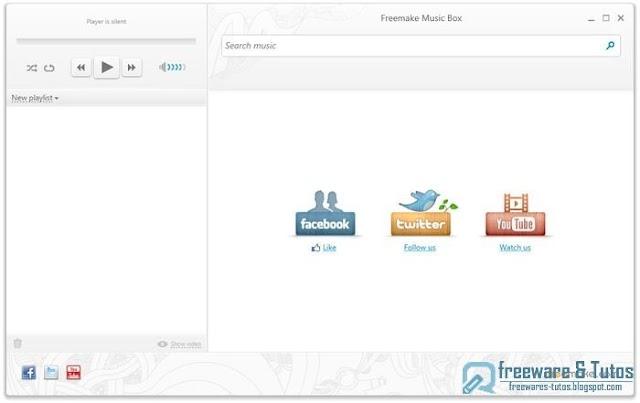 Freemake Music Box : un logiciel tout-en-un pour écouter et gérer la musique en ligne et hors ligne