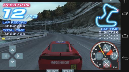 ridge racer 2 android psp emulator ppsspp