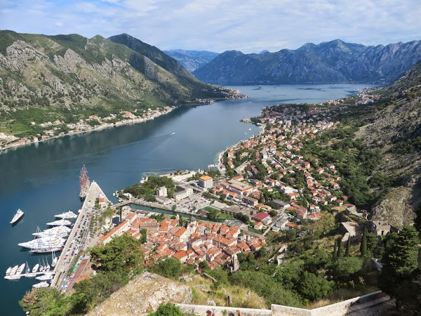 View of Kotor from the fortress