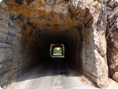 two tunnels