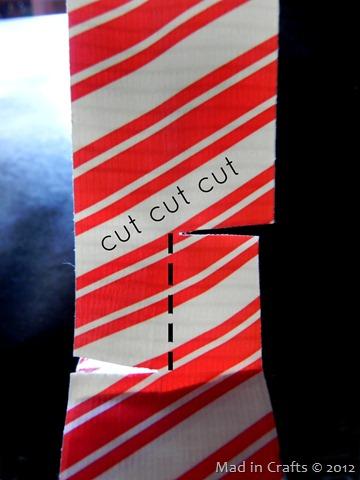 make notched cuts