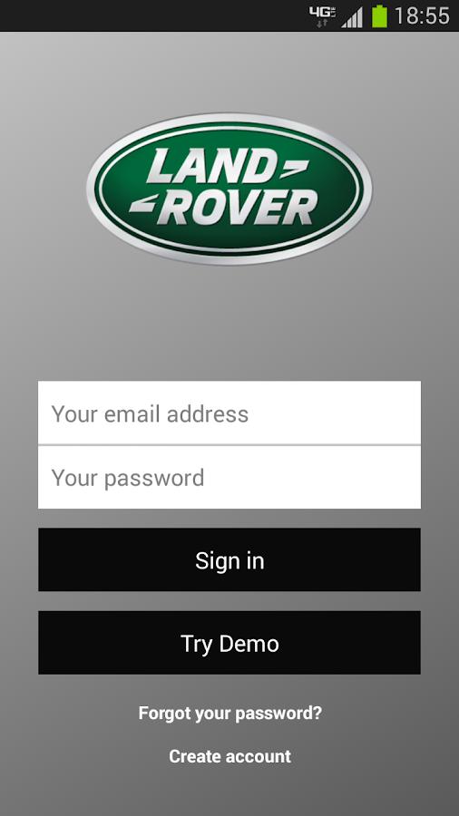 Land Rover InControl™ Remote - screenshot