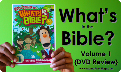 What's in the Bible? DVD Review {Vol 1}