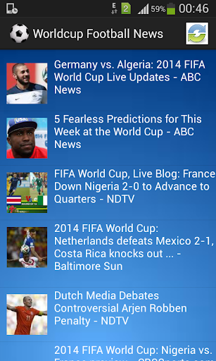 Worldcup Football News