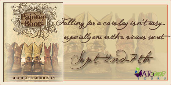 {Review+Giveaway} Painted Boots by Mechelle Morrison