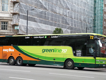 Transport London: Greenline Luton - Londra