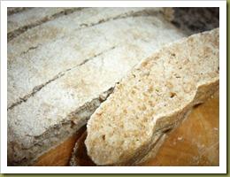 Ciabattine integrali con miele (8)