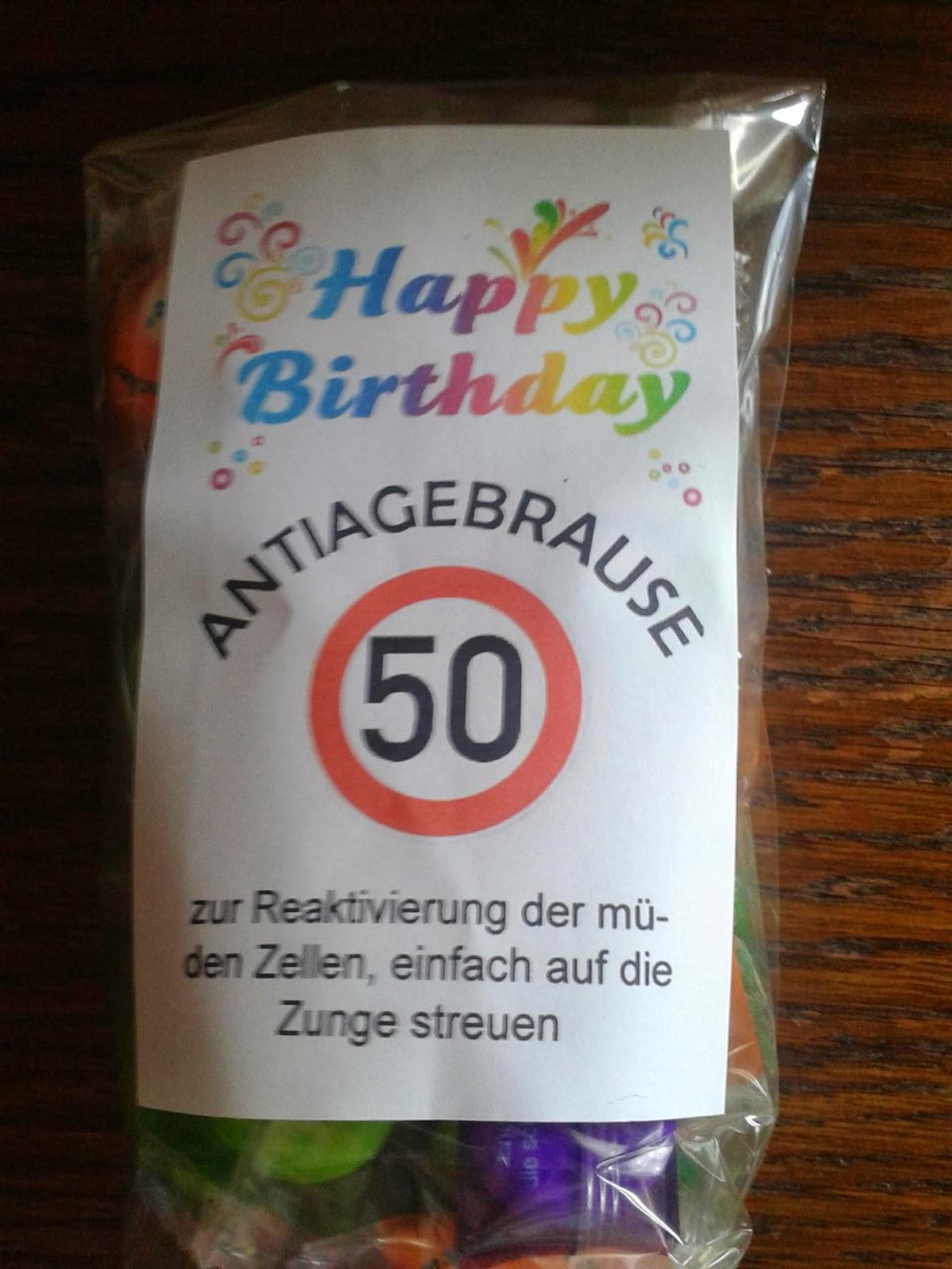Geschenk Zum 50 Geburtstag Frau Basteln Lowieluneu