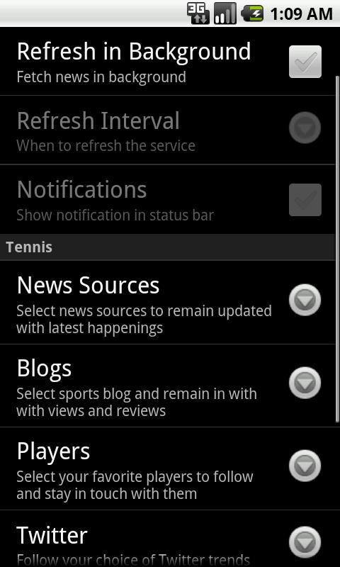 Sports Eye - Tennis (Lite)- screenshot