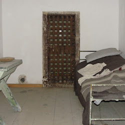 Recreated Cell at Eastern State Penitentiary