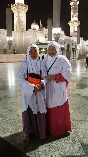 ibu, mak, masjid nabawi, sihat, shaklee, umrah