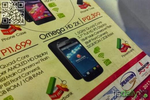 Cherry Mobile Omega HD 2X Leak