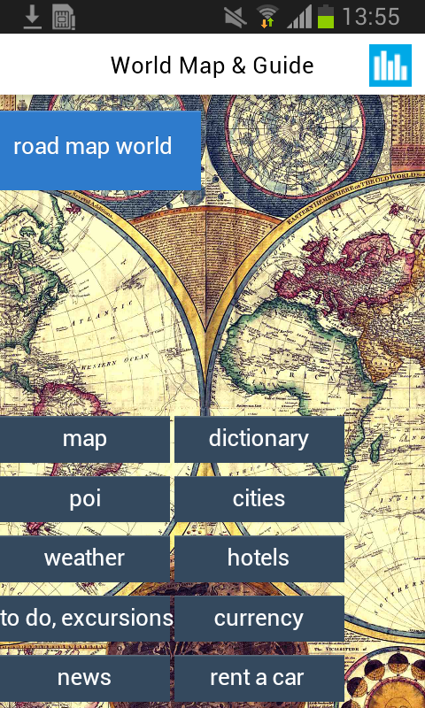 World Offline Map Earth Guide Android Apps On Google Play - Us road map offline