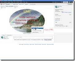 Fazer um banner - lbuns da web do Picasa