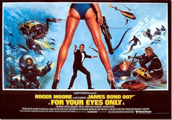 Affiche cinéma de James Bond (30)