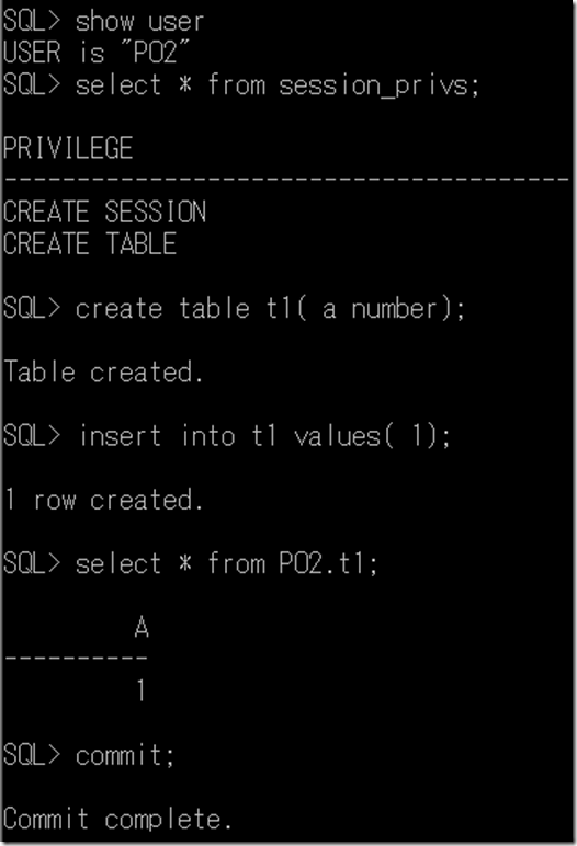 Oracle Privilege | SQL Panda