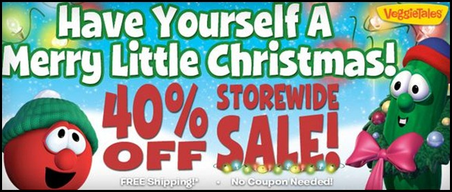 Veggies Christmas Sale