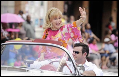 Barbara Eden grand marshall of parade