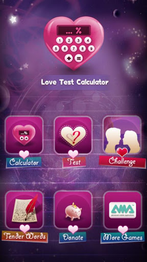 Love Test Calculator  captures d'u00e9cran 1