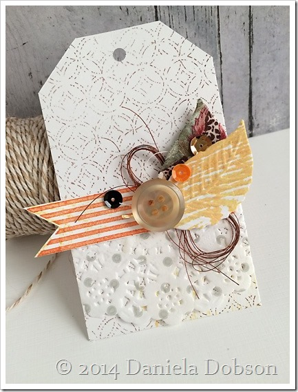Mini gift set tag by Daniela Dobson