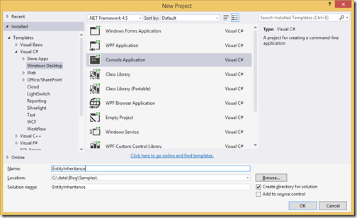 New-project-entity-framework-inheritance