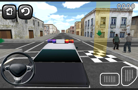 Free 3D Police Car Parking 2