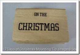 12 Days of Christmas, Mounting Tip, Amanda Bates, The Craft Spa 004