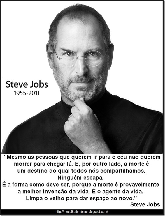 Tag Frases De Steve Jobs Sobre A Morte