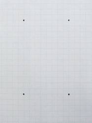 graph paper floor plan