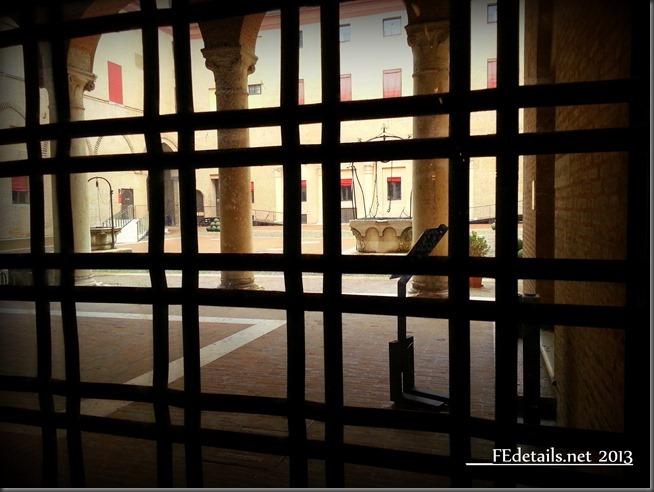 Destro al Castello Estense, Ferrara - Inside Este's Castle, Ferrara, Italy