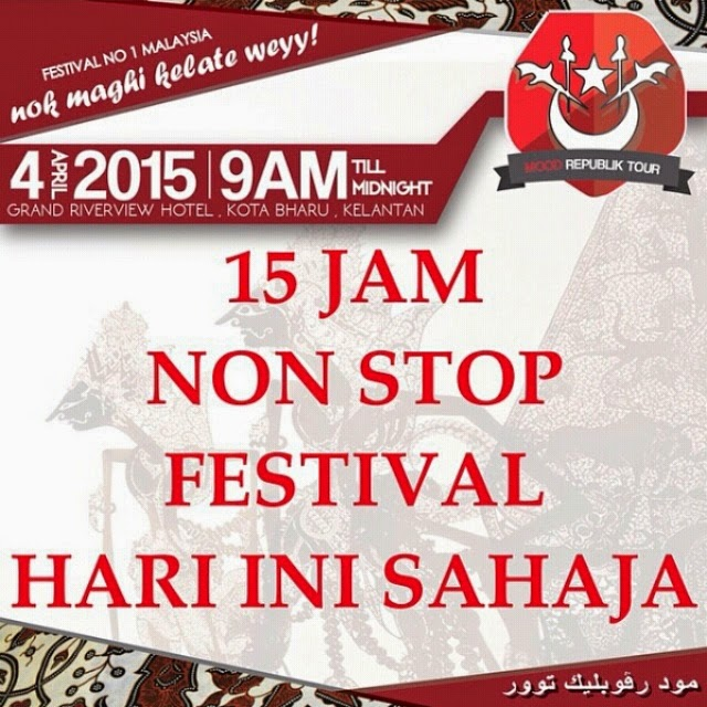 Festival Mood Republik Tour Kelantan