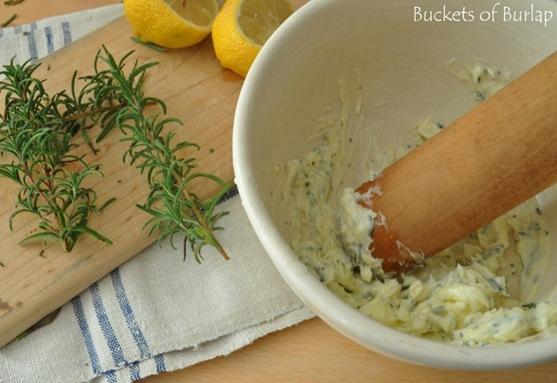 roast chicken-lemon butter