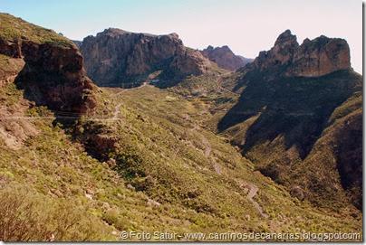 7540 El Aserrador-Vega Acusa(Montaña Aserrador y Risco Chimirique)