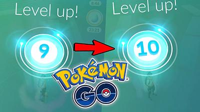 Tăng cấp Pokemon Go