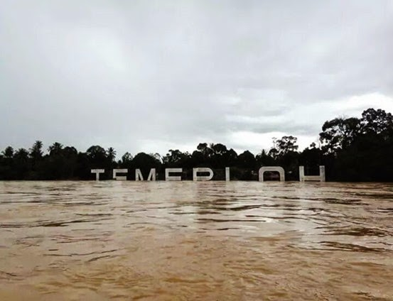 banjir temerloh pahang_