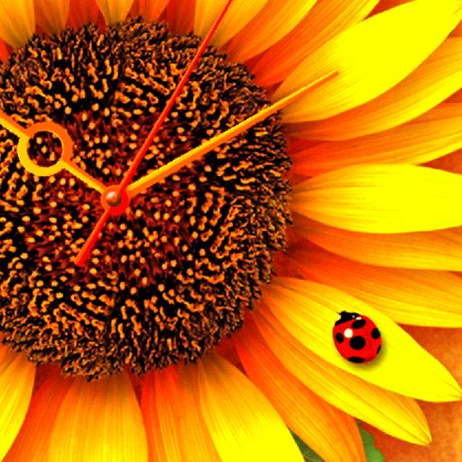 ひまわり*Sunflower ライブ壁紙 トライアル 個人化 App LOGO-硬是要APP