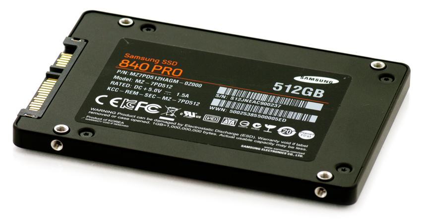 samsung ssd 840 pro ファームウェア
