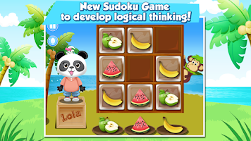 Screenshot of Lola's Fruity Sudoku FREE