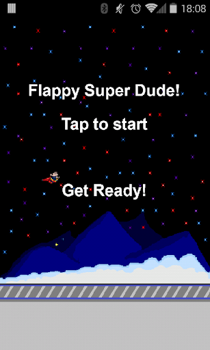 Flappy Super Dude