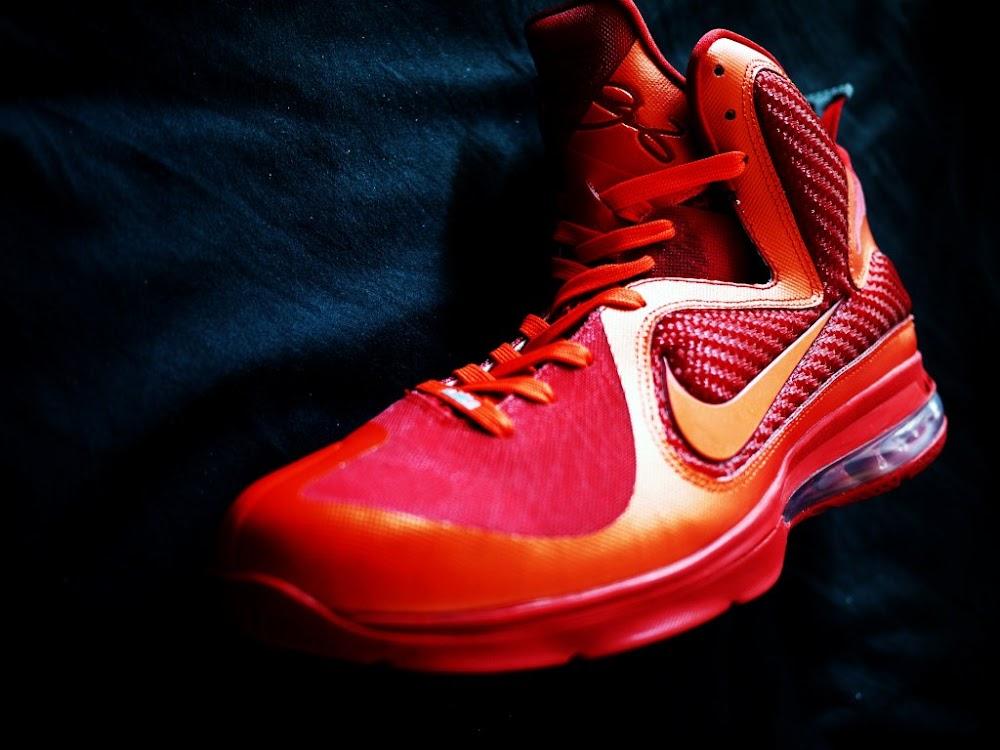 6817bf6f2f21 Nike LeBron 9 iD Showcase 8220Super Flame8221 by HLeung ...