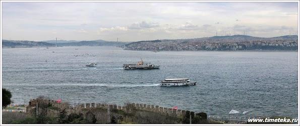 Стамбул. Вид на Босфор. www.timeteka.ru