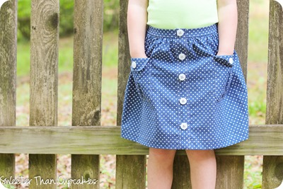 Spotty Skirt Tutorial