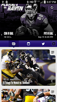 Screenshot of Baltimore Ravens Mobile