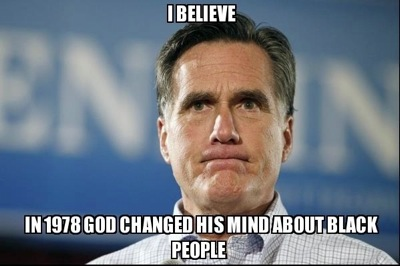 Mitt Romney is a Mormon